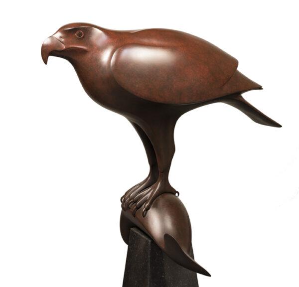 EDH roofvogel met vis LR