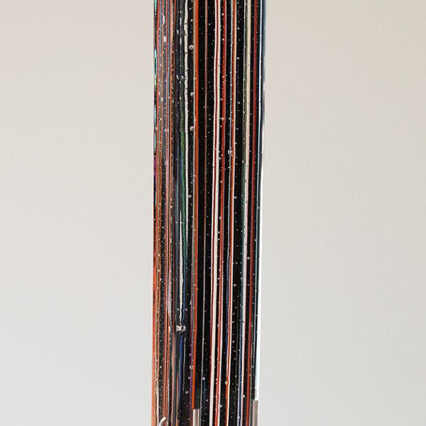 LINEAL NEGRA NARANJA 50x8x8 cm LR IMG_0328
