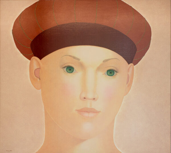 Lady with green eyes 180 x 200 cm 2010 LR-4078