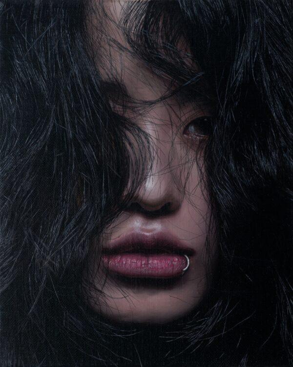 Park HyungJin, J.G.Choi, Black, 2017, 27x22 cm (11x9 inch)
