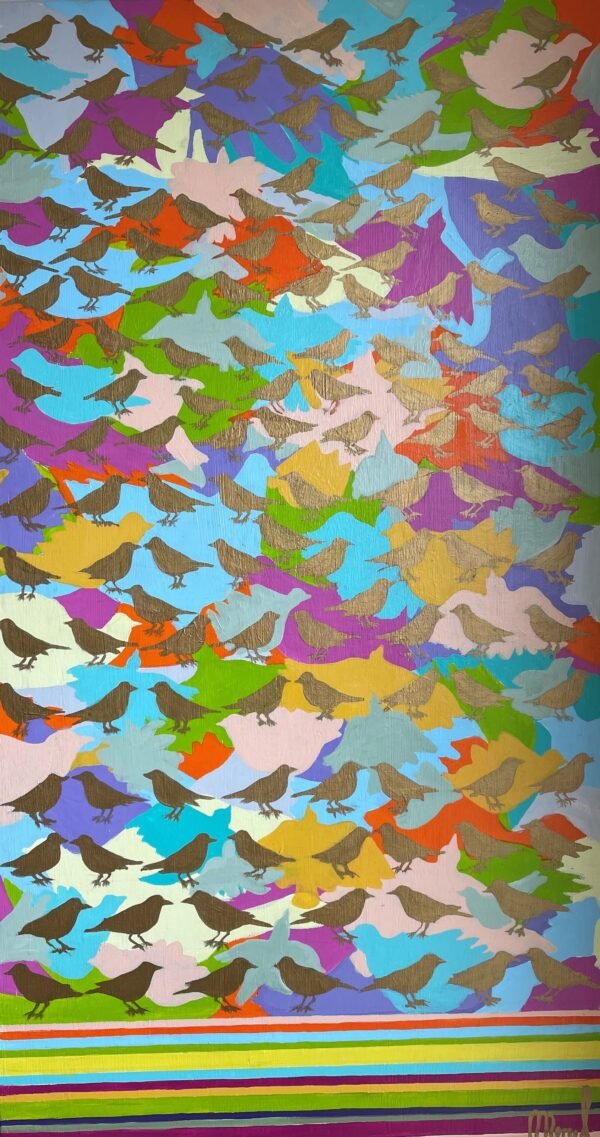 MRL Let the birds sing 150x80 cm HR